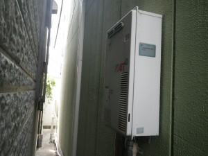 ガス給湯専用器取替工事 (神戸市東灘区) 取替前