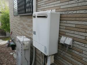 エコジョーズガス給湯器取替工事 (三木市) 施工前