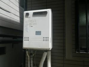 ガス給湯器取替工事 (神戸市垂水区) 施工前