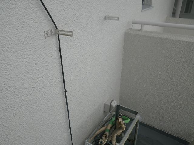 熱源機から給湯器へ取替工事 (神戸市東灘区) 既設熱源撤去後