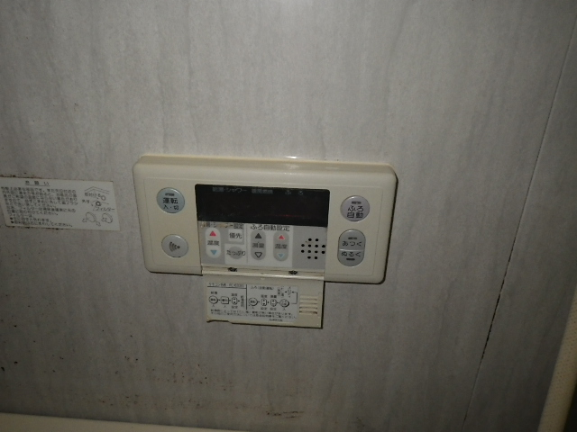 熱源機から給湯器へ取替工事 (神戸市東灘区) 既設浴室リモコン
