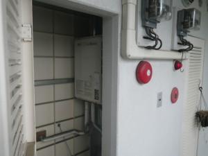 ガス給湯器取替工事 (川西市) 取替施工前