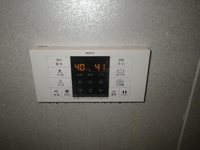 ガス給湯器取替工事 (川辺郡猪名川町)浴室リモコン取替完了後