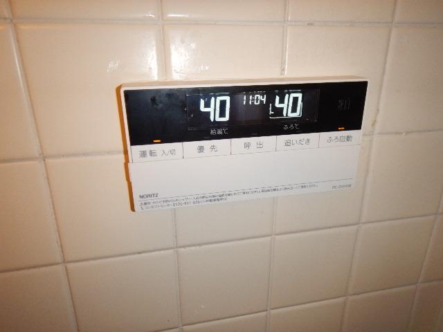 ガス給湯器エコジョーズ取替工事(神戸市中央区)浴室リモコン取替完了後