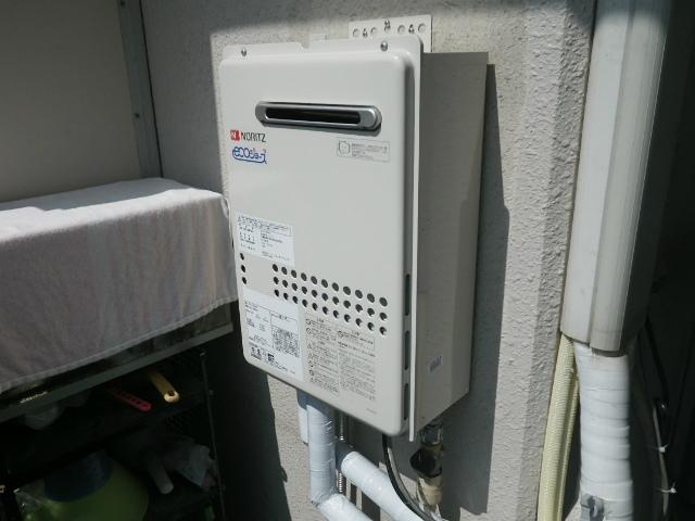 ノーリツ GQ-C2434WS-BL オートストップなし。