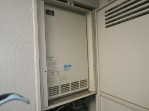 後方排気型給湯器施工事例(大阪府富田林市)施工前