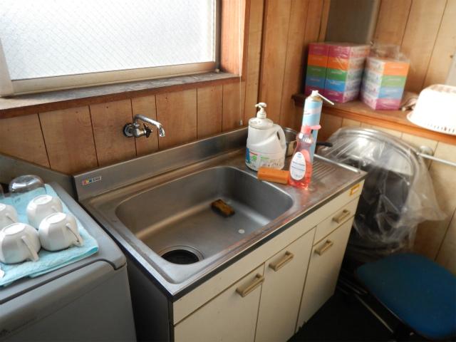 小型電気温水器新規取付工事(加古川市)取替前