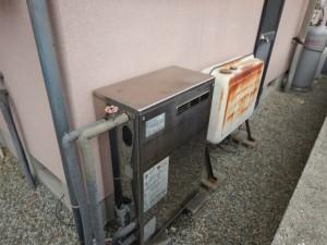 ガス給湯器エコジョーズ取替工事(加古川市)施工前