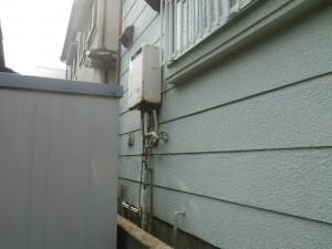 ガス給湯器取替工事(神戸市垂水区)取替前