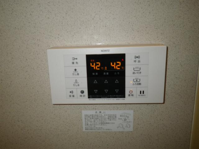 ガス給湯器取替工事(神戸市東灘区)リモコン取替完了後試運転