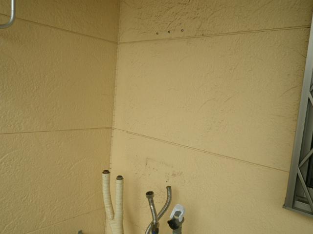ガス給湯器取替工事(神戸市長田区)既設給湯器撤去完了後