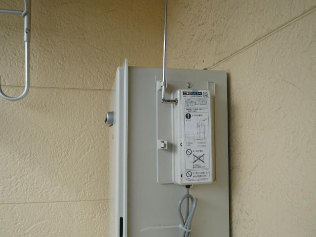 ガス給湯器取替工事(神戸市長田区)通信ユニット取付完了後