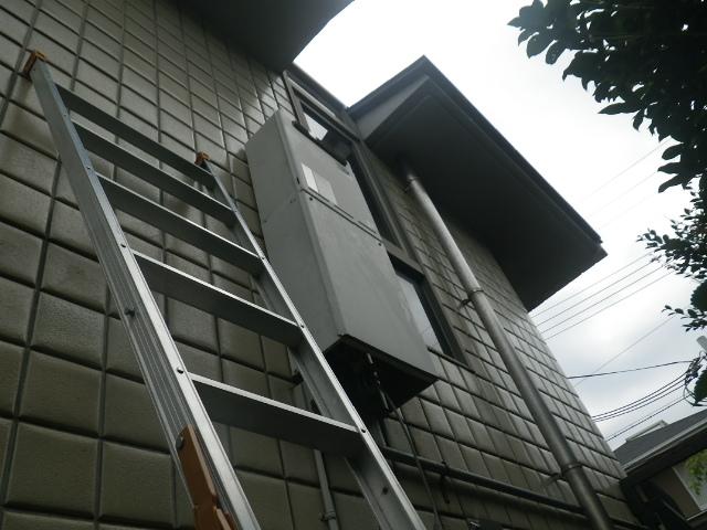 ガス給湯器取替工事(神戸市東灘区)既設給湯器