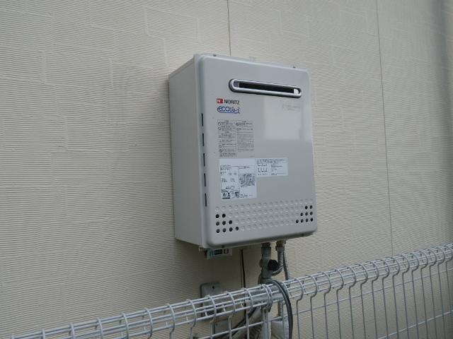 給湯器及びシャワー水栓取替工事(神戸市灘区)取付後