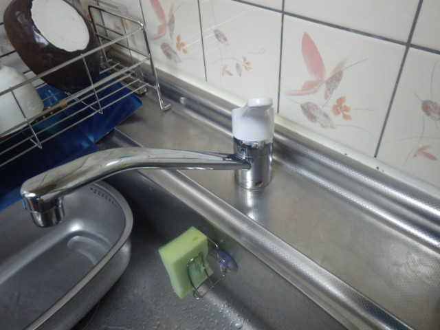 キッチン水栓取替工事(垂水区)既設水栓