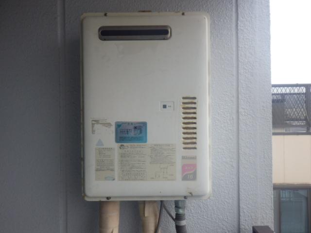 給湯器取替工事(神戸市兵庫区)既設給湯器