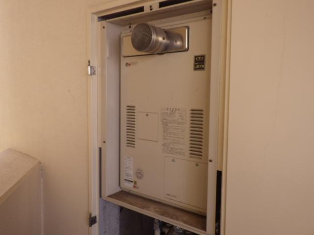 給湯器取替工事(神戸市西区)既設熱源機