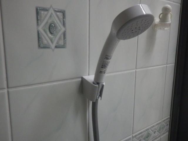 シャワー水栓取替え工事(神戸市東灘区)シャワー取付後