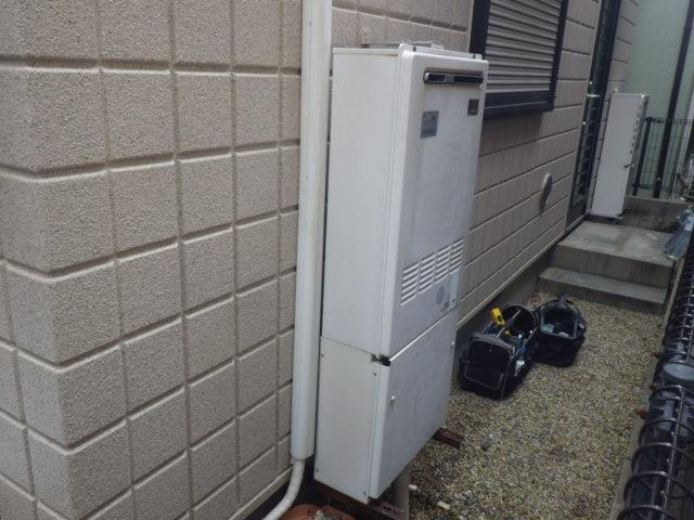 給湯器取替工事(神戸市東灘区)既設熱源機