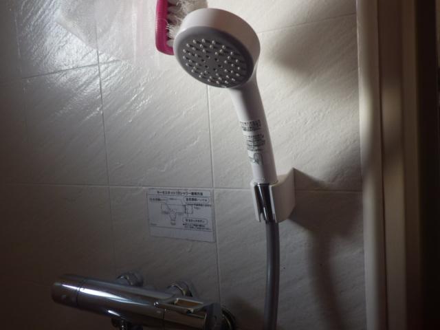 シャワー水栓取替え工事(明石市)シャワー取替え後