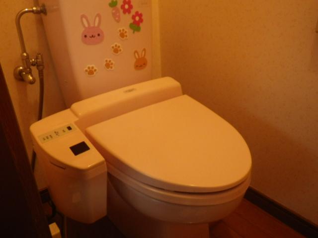 トイレ取替え工事(尼崎市)既設トイレ