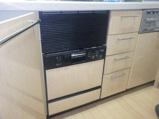 食洗機取替え工事(神戸市垂水区)既設食洗機
