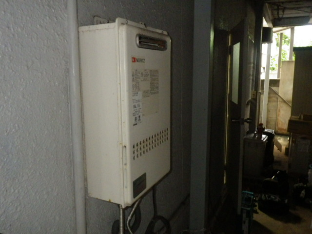 ノーリツ GT-2050SAWX-2 給湯器取替工事(神戸市垂水区)既設給湯器