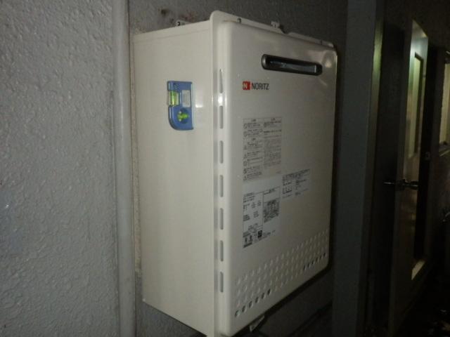 ノーリツ GT-2050SAWX-2 給湯器取替工事(神戸市垂水区)設置確認